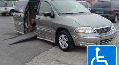ford windstar 2003 wheelchair van