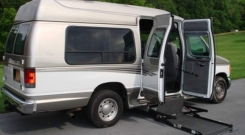 ford e250 2005 full size wheelchair van