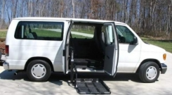 ford econoline 2006 wheelchair vans