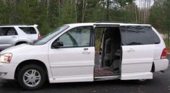 ford freestar 2004 wheelchair van